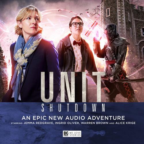 UNIT: Shutdown - Big Finish Audio CD