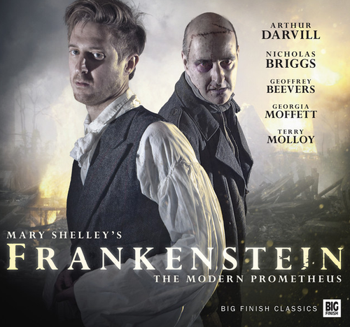 FRANKENSTEIN Starring Arthur Darvill and Nicholas Briggs - Limited Autographed Big Finish Audio Drama CD Set