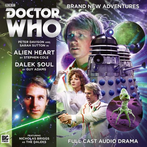 Alien Heart/Dalek Soul Audio CD - Big Finish #224
