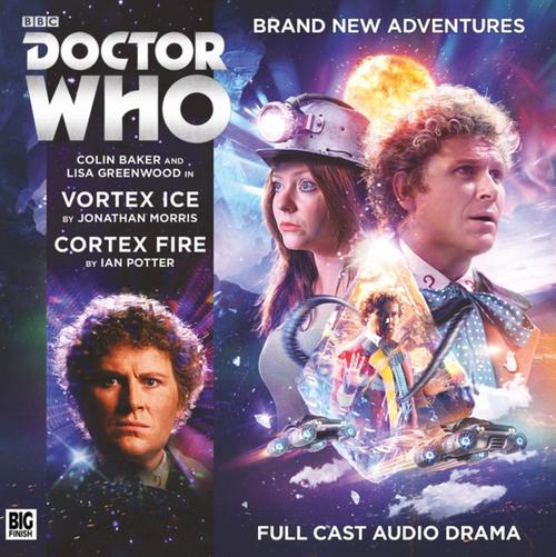 Vortex Ice/Cortex Fire Audio CD - Big Finish #225