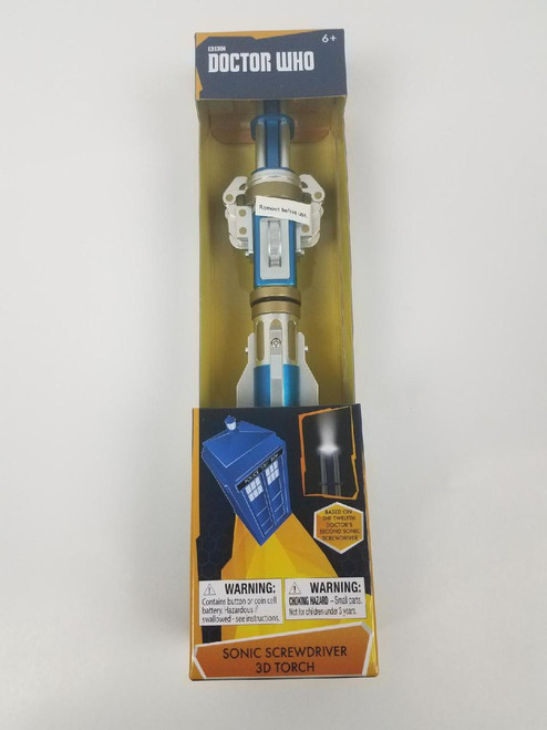 12th Doctor Sonic Screwdriver LED Torch