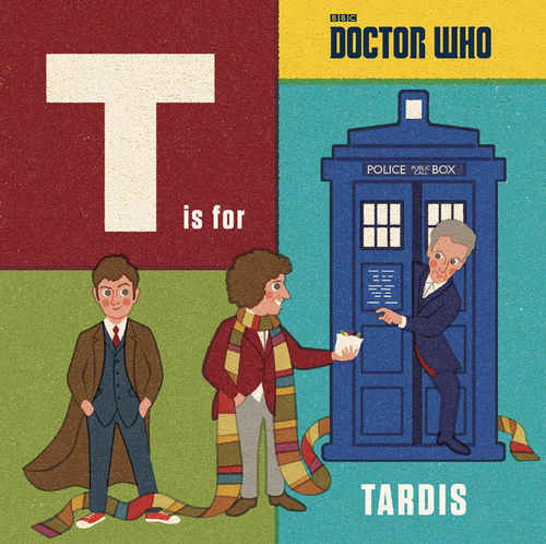 Doctor Who: T is for TARDIS Children's Hardcover Book