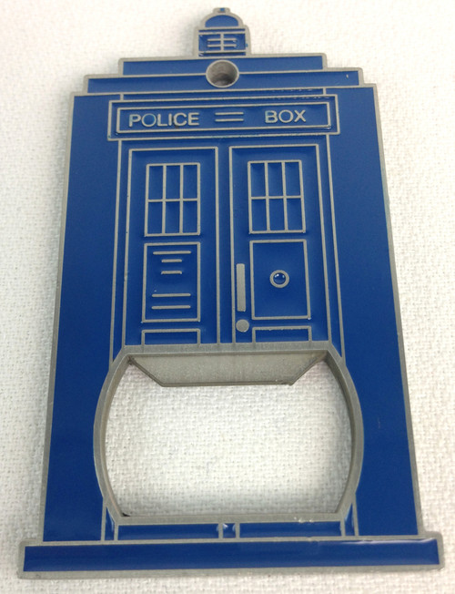 TARDIS Metal Bottle Opener