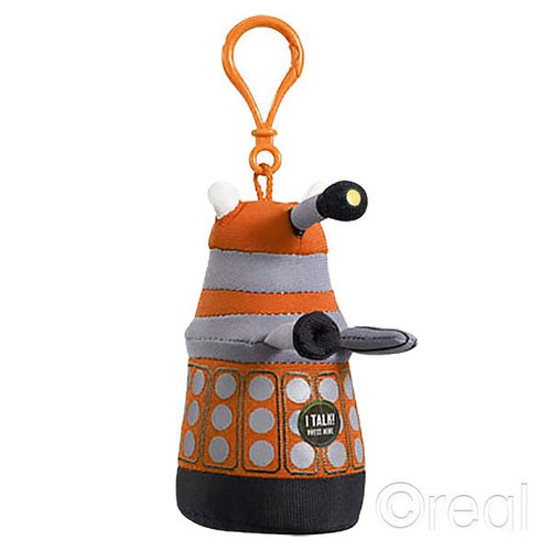 Talking Orange Mini Dalek Doctor Who Plush