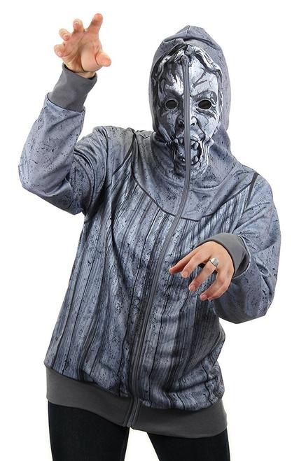 Weeping Angel Zip-Up Unisex Costume Hoodie