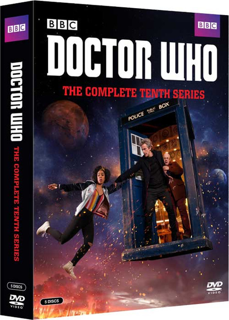 Doctor Who Series 10 DVD Set  - Starring Peter Capaldi as the Doctor