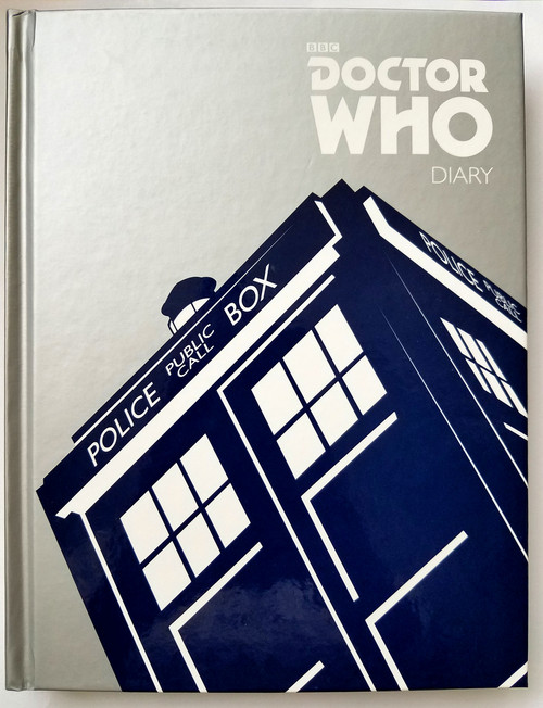 Doctor Who Deluxe Hardcover Undated Diary/Journal