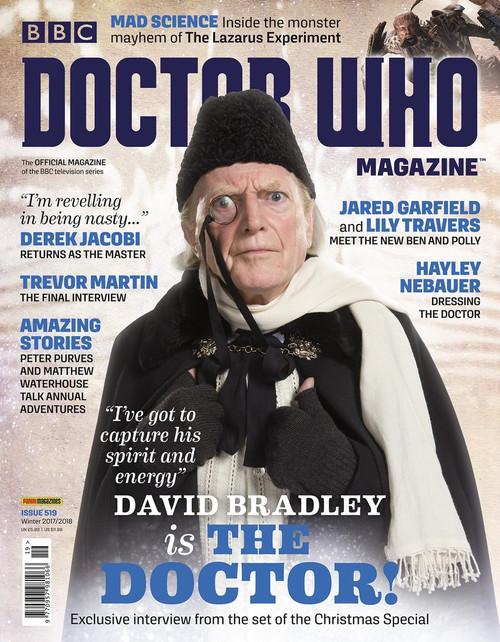 Doctor Who Magazine #519