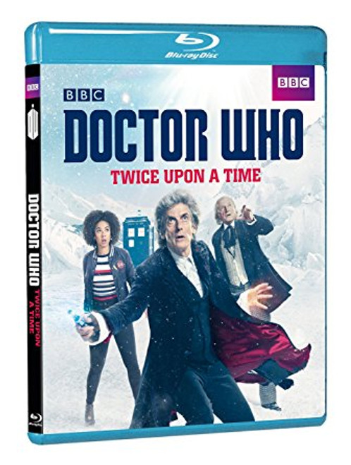 """Doctor Who """"Twice Upon A Time"""" 2018 Christmas Special Blu-Ray"""