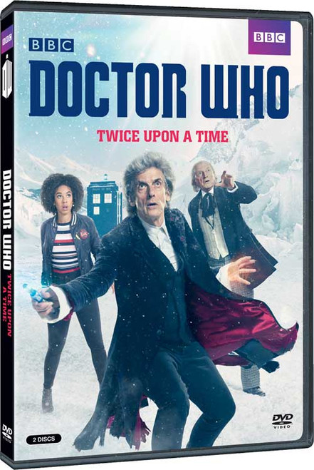 """Doctor Who """"Twice Upon A Time"""" 2018 Christmas Special DVD"""