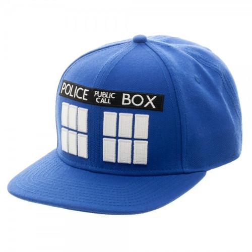 TARDIS Snapback Cap