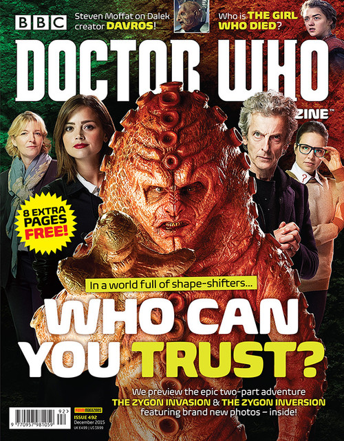 Doctor Who Magazine #492 - Who Can You Trust?