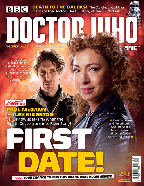 Doctor Who Magazine #495 - First Date