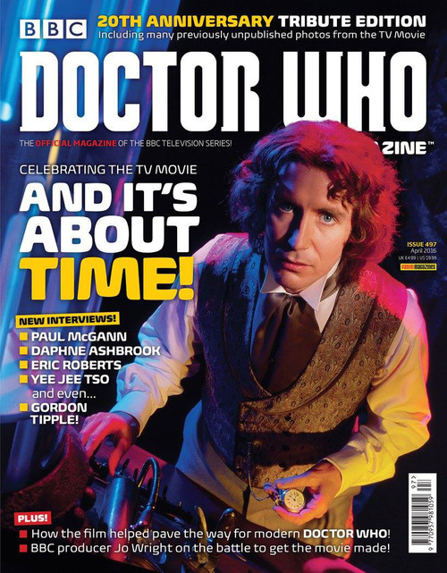 Doctor Who Magazine #497 - 20 Years of the TV Movie