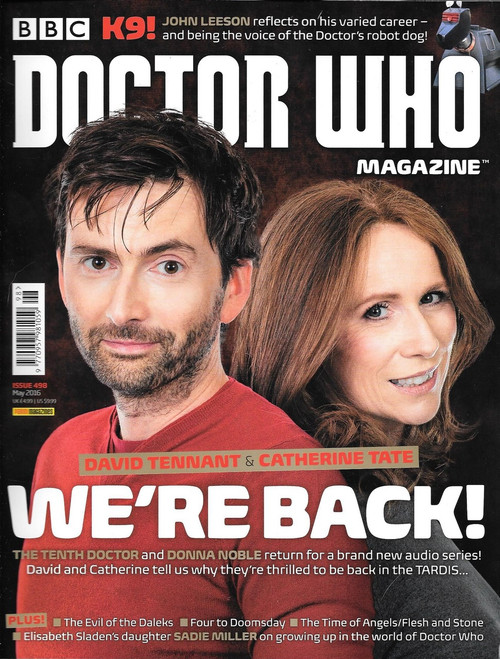 Doctor Who Magazine #498 - The Doctor and Donna Noble Are Back!