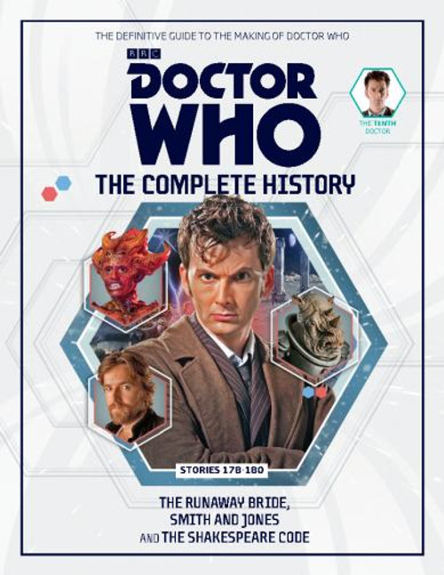 Doctor Who: The Complete History - Volume 54, Issue 58 (Tenth Doctor)