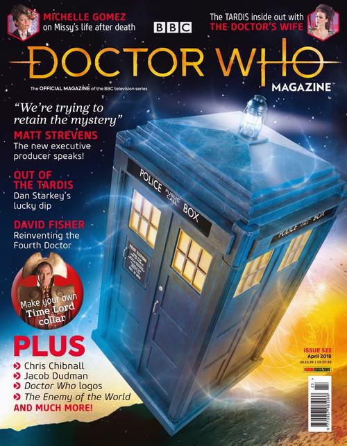Doctor Who Magazine #523