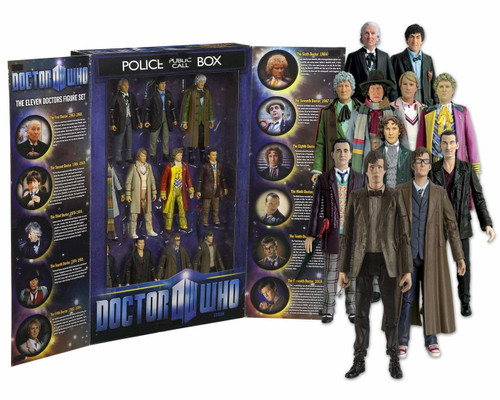 Eleven Doctors Action Figure Set - Character Options (11 Figures)