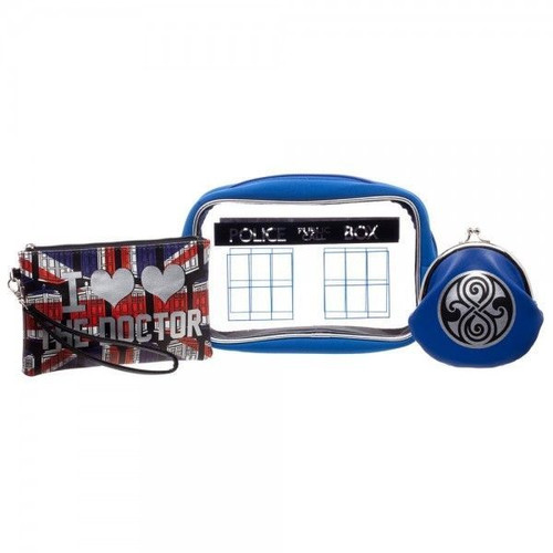 Doctor Who TARDIS Travel Bags Gift Set