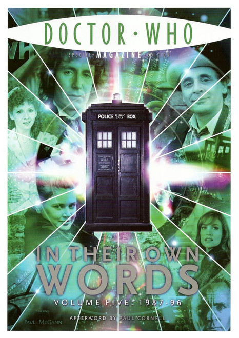 Doctor Who Magazine Special Edition #21: In Their Own Words (Volume 5) - 1987 to 1996