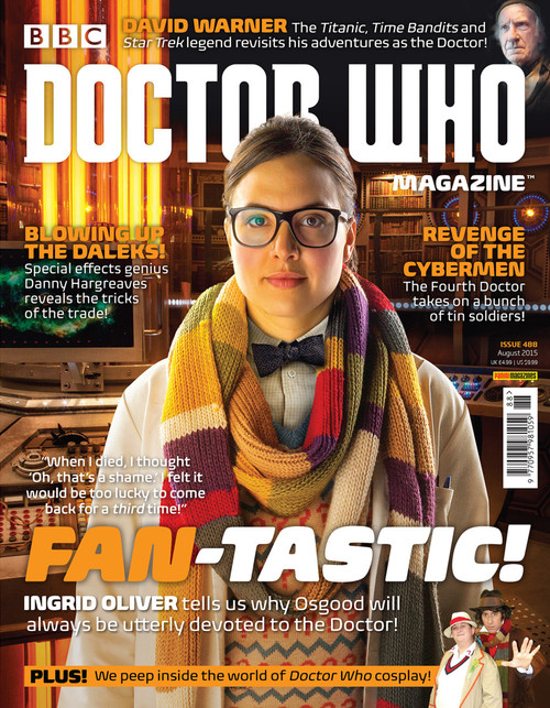 Doctor Who Magazine #488 - Ingrid Oliver Interview