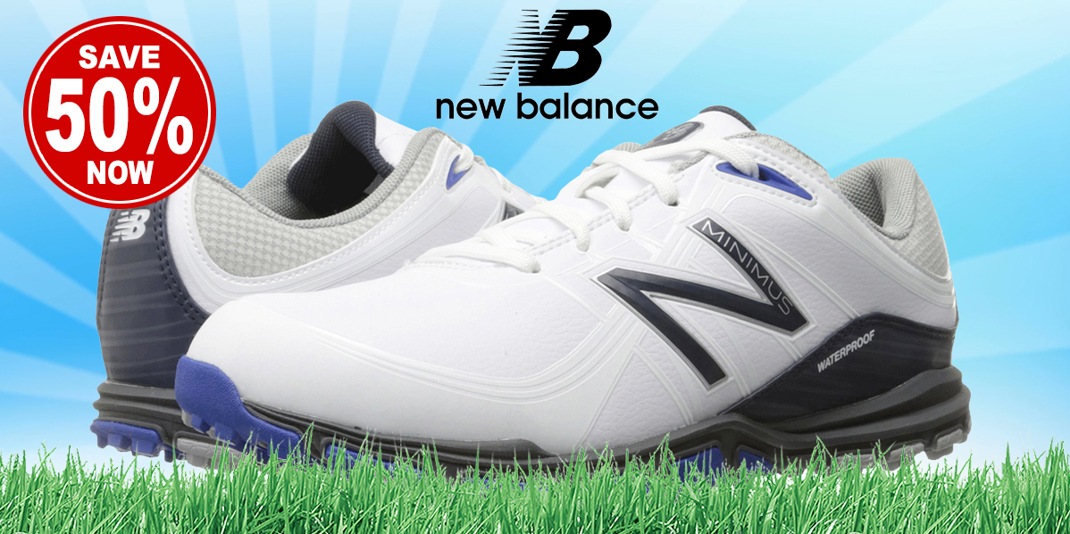 New Balance Golf Shoes • On sale NOW