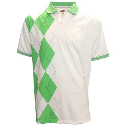 Tabasco Argyle Pattern Polo Golf Shirt - GolfEtail.com