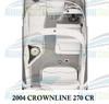 2004 Crownline 270 CR 2-Piece Replacement Carpet Set