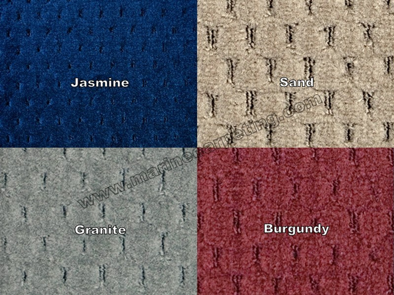 32 Oz Pontoon Boat Carpet Samples Marine Carpeting