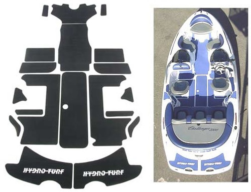 Hydro-Turf Jet Boat Mats for Sea-Doo '00-'04 Challenger 2000 or '02 X