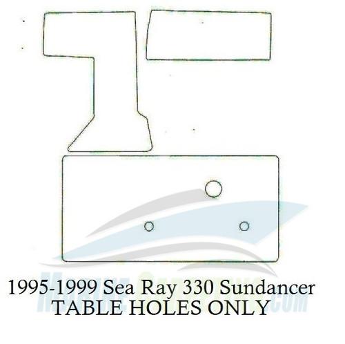 1995 1999 Sea Ray 330 Sundancer