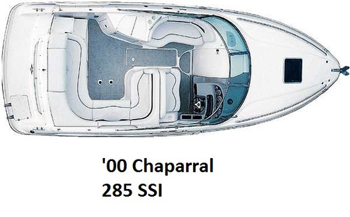 2000 Chaparral 285 SSI Infinity Luxury Woven Vinyl Replacement Set
