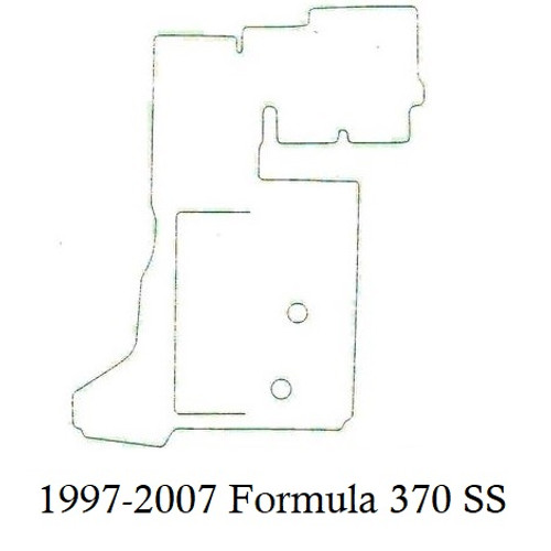 1997-2007 Formula 370 SS Infinity Luxury Woven Vinyl Replacement Set