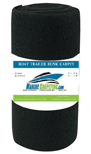 "16 oz. Boat Trailer Bunk Carpet - 1 pieces, 12' x 12"" each"