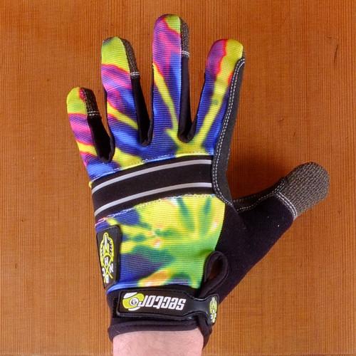 Sector 9 Bhnc Lime Burst Slide Gloves The Longboard Store