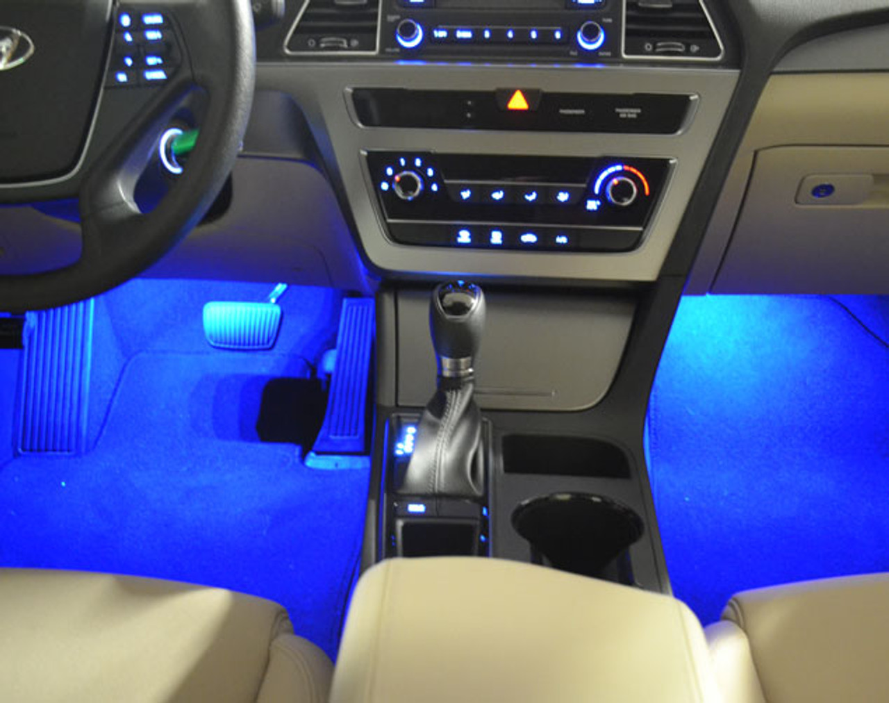 2015 2017 hyundai sonata led interior lighting kit free - 2015 hyundai sonata interior pictures ...
