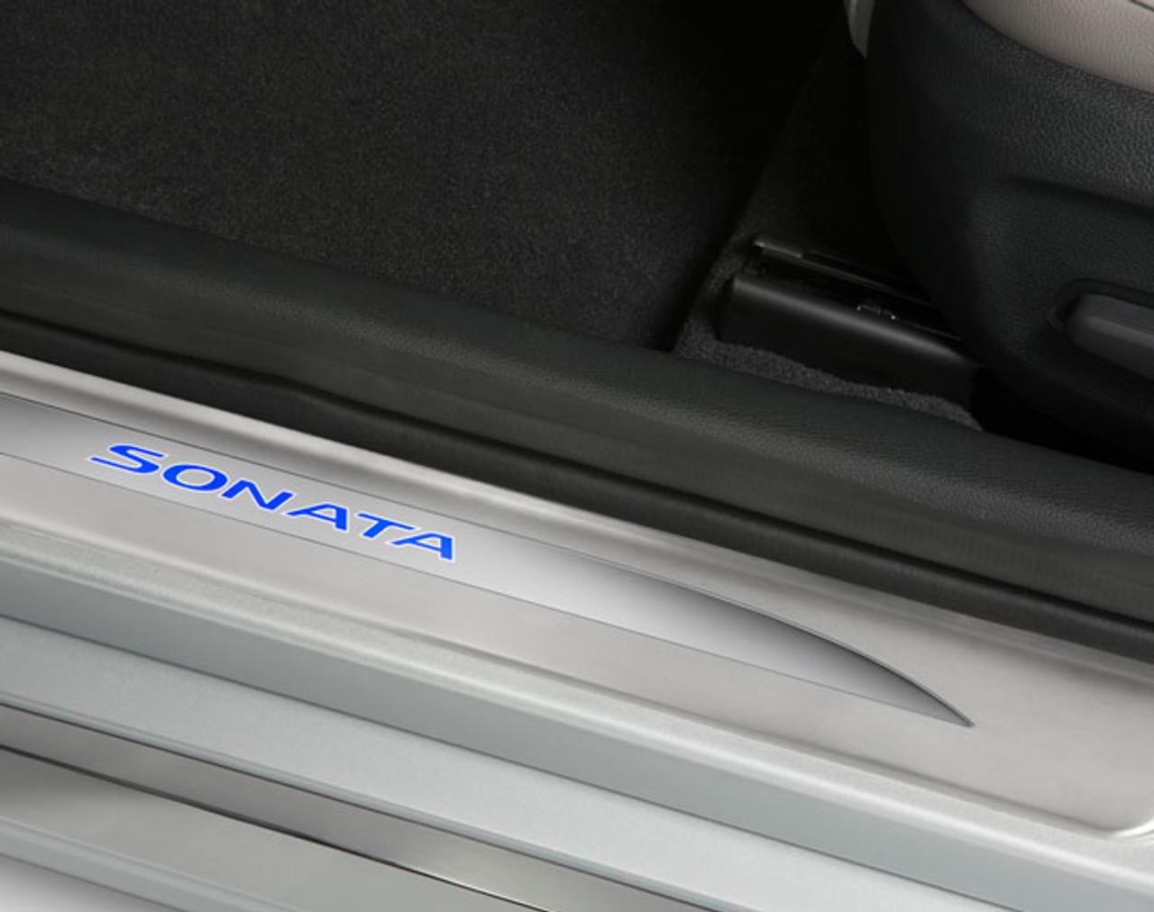 Hyundai Sonata LED Door Sill Plates & Hyundai Sonata LED Door Sill Plates - Free Shipping | Hyundai Shop