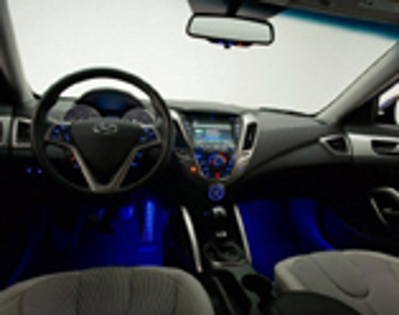 2012 2017 hyundai veloster led lighting kit free - Hyundai veloster interior accessories ...