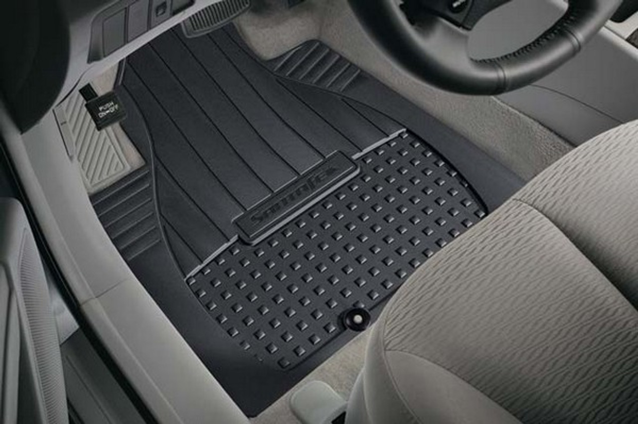 Hyundai Santa Fe All Weather Floor Mats Hyundai Shop