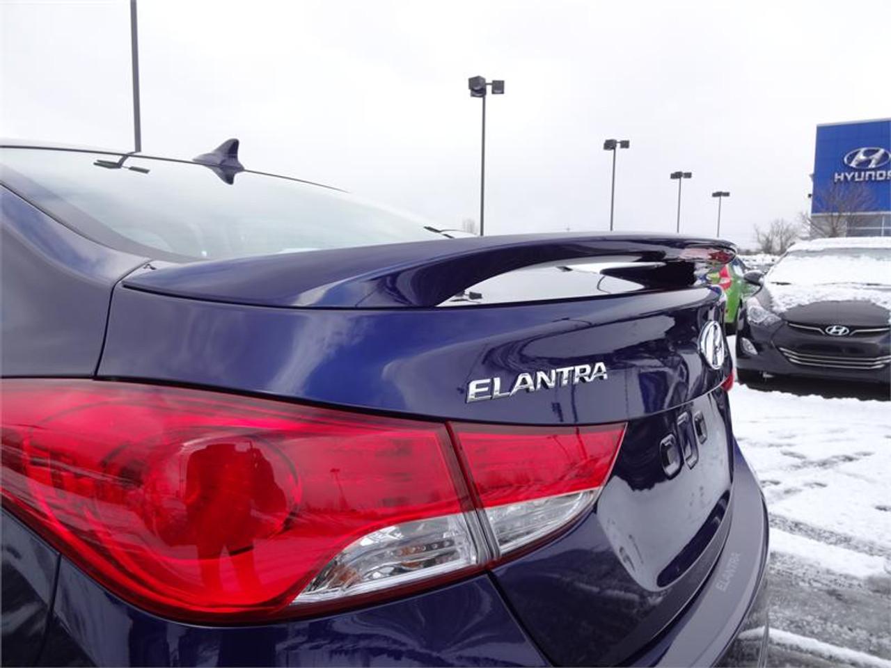 2011 2016 Hyundai Elantra Rear Spoiler Free Shipping