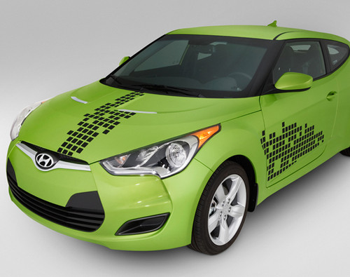 Hyundai Elantra Coupe Disco Body Graphic (D089)