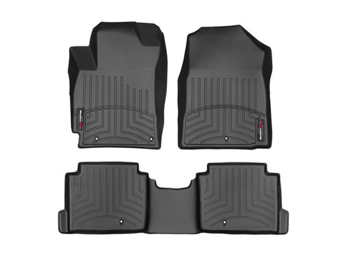 Hyundai Elantra WeatherTech FloorLiners - Full Set, Black
