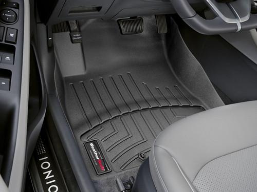 Hyundai Ioniq WeatherTech Floor Liners - Front Set