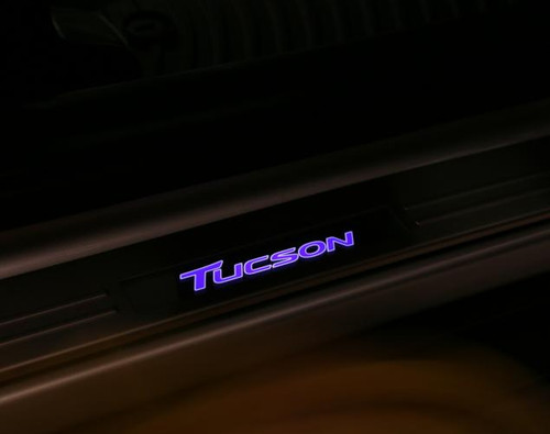 Hyundai Tucson LED Door Sill Plates