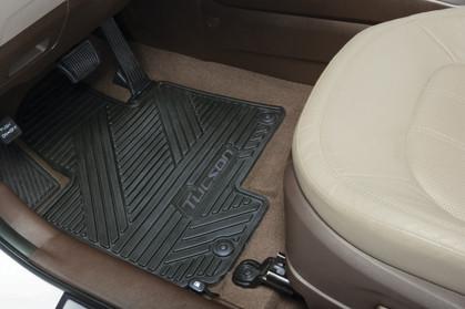 2019 Hyundai Santa Fe Rubber Floor Mats New 2019 2020