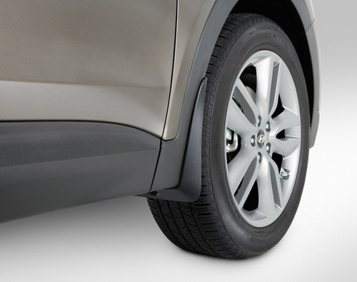 Hyundai Elantra Coupe >> Hyundai Santa Fe Mud Guards | Hyundai Shop