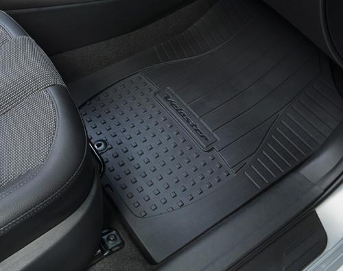 2018 Hyundai Genesis Coupe >> Hyundai Veloster Rubber Floor Mats | Hyundai Shop