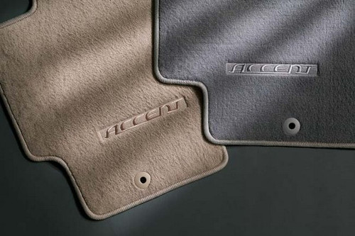 2011 Hyundai Accent Carpeted Floor Mats Free Shipping