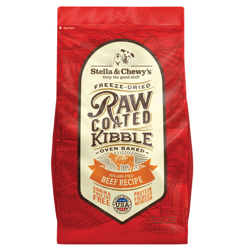 Stella & Chewy's Raw Coated Beef Baked Kibble