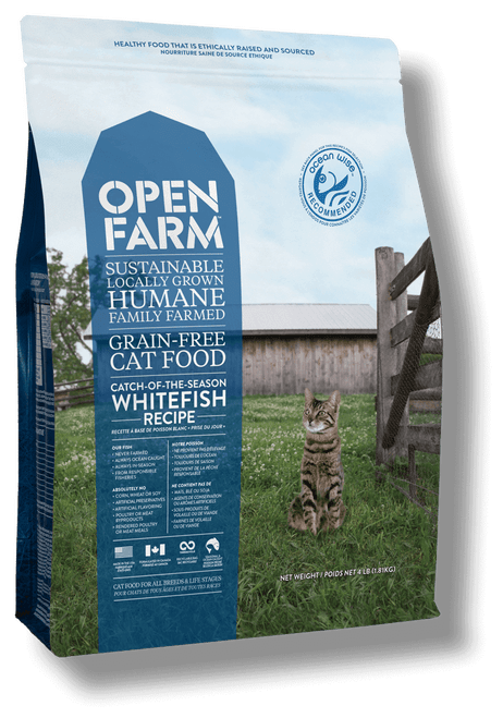 Catch-of-the-Season Whitefish Grain Free Recipe for Cats